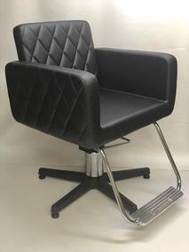 Cadeira Cabeleireiro Ferrante Modelo Nice (não Reclinável)