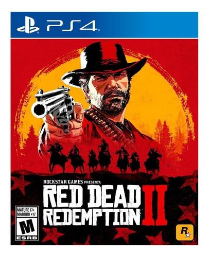 Imagen 1 de 4 de Red Dead Redemption 2 Standard Edition Rockstar Games PS4 Digital