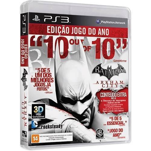 Batman Arkham City Ps3 Semi-novo Em Perfeito Estado!