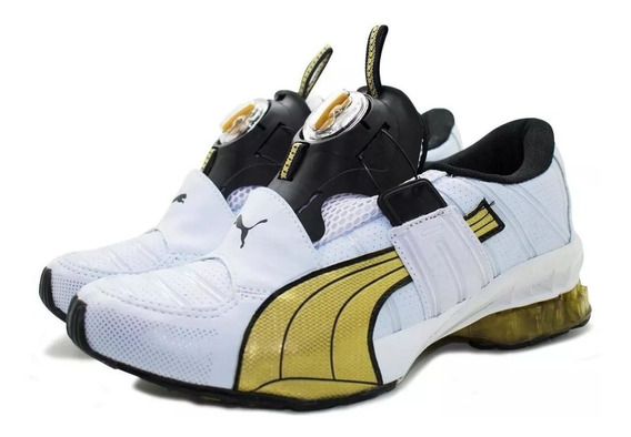 Tenis Mascu Femin Old Puma Disc Cell Aether Original Imports