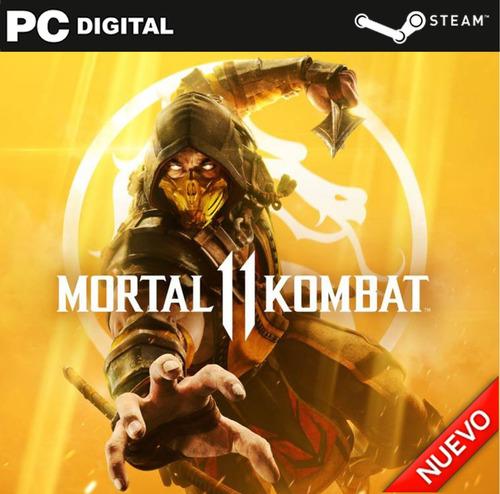 Mortal Kombat 11 Pc Español + Online Steam Original