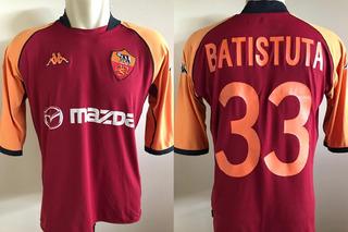Camisa Roma Batistuta 2002-03