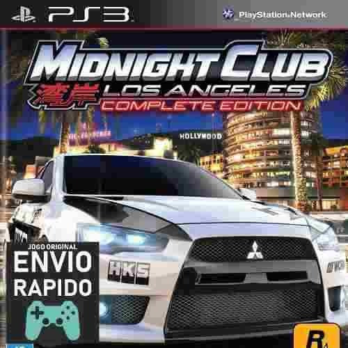 Midnight Club Los Angeles Complete Edition Jogos Ps3