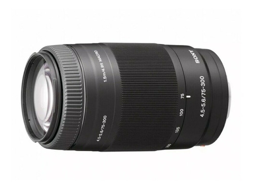 Imagen 1 de 9 de Lente Sony 75-300mm F/4.5-5.6 !!!!totalmente Nuevo!!!!