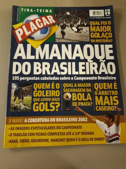 Revista Placar Tira-teima Almanaque Do Brasileirão - Ed 1248
