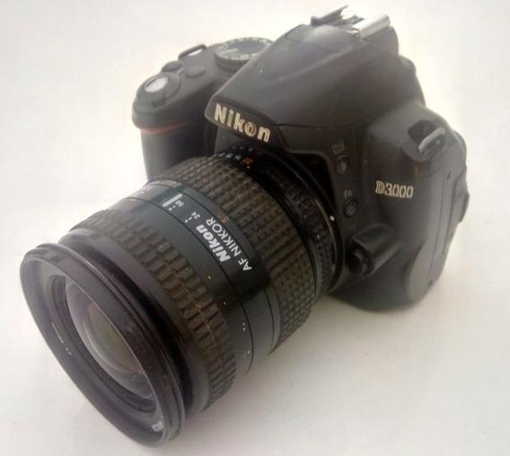 Nikon D3000 Obj 24~50 - Completa