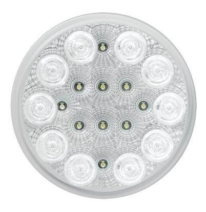 Imagen 1 de 4 de Grand General 77092 White 4 Round Spyder 20led Luz De Seguri