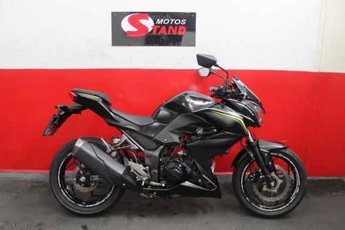 Kawasaki Z 300 Z300 Z-300 Abs 2019 Preta Preto