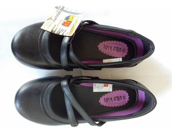Zapatos Escolares De Niña