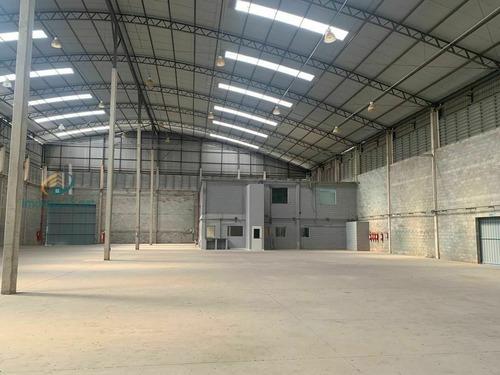 Imagem 1 de 30 de Galpão Industrial Zupi 2 Em Condomínio Com Área Útil 2.389m²,10 Vagas Para Veículos,área Fabril 1.790m², Pé Direito 14m - 315