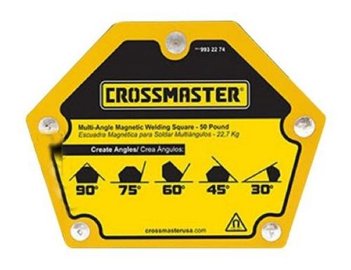 Escuadra Crossmaster Magnética Soldar Multiangulo 22.7 Kg