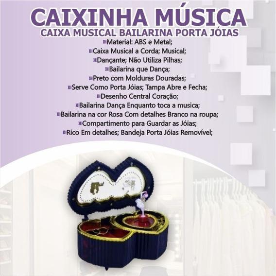 Caixinha Musica Caixa Musical Bailarina Quarto Decoração