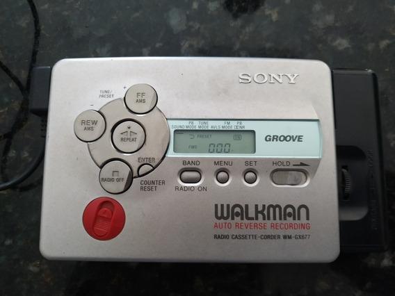 Walkman Sony Japonês Raridade, Só Funciona O Rádio.