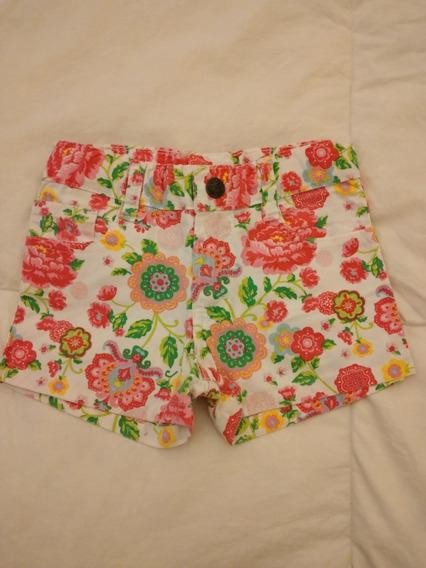 Short Nena Floreado Mimo Jeans