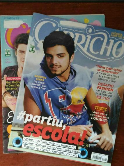 Kit Revistas Capricho Rodrigo Simas - N° 1193 E 1171