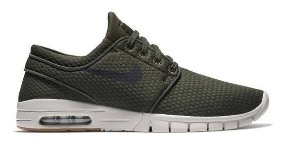 Zapatillas Nike Sb Janoski Max Verde Oscuro Hombre Mujer