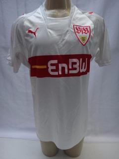 Camisa De Futebol Do Stuttgart Da Alemanha 2007 2008 Puma