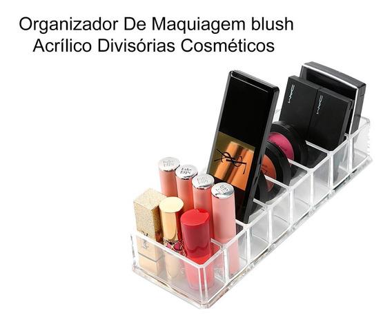 Organizador De Maquiagem&blus Acrílico Divisórias Cosméticos