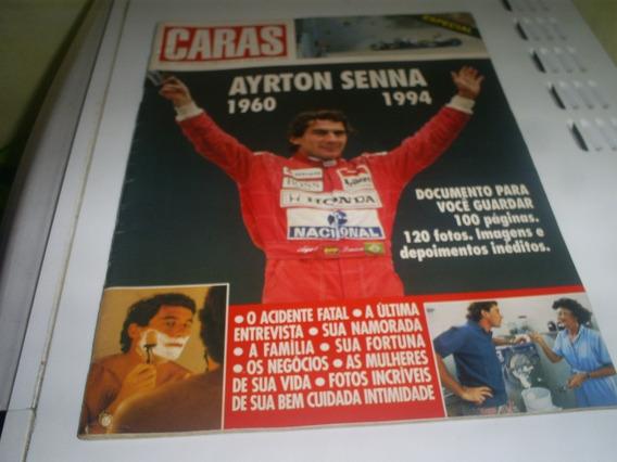 Revista Caras - Ayrton Senna 1960-1994 Bem Conservada
