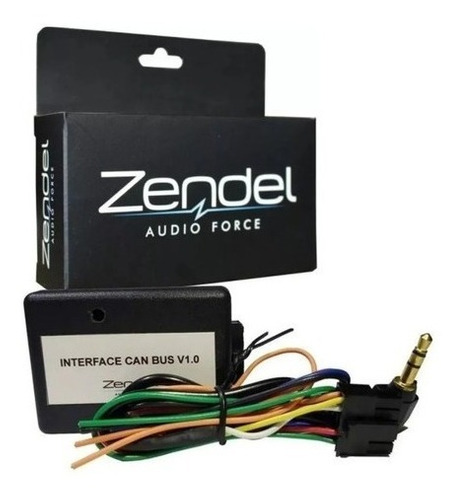 Interface Controle De Volante Zendel Rede Can Bus V1.0 Slim