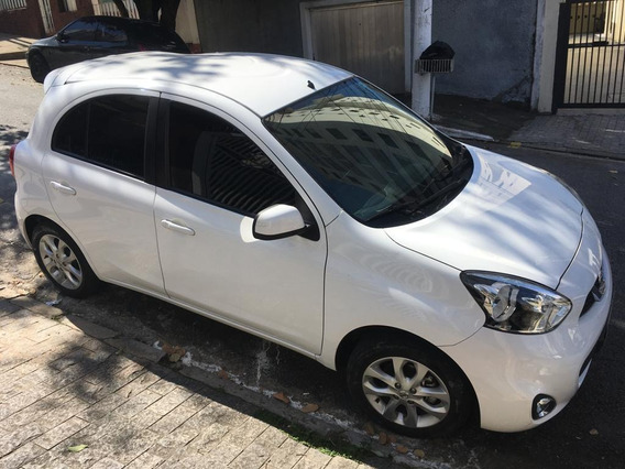 Nissan March Sv 1.0 12v Flex 5p 4 Portas Branco