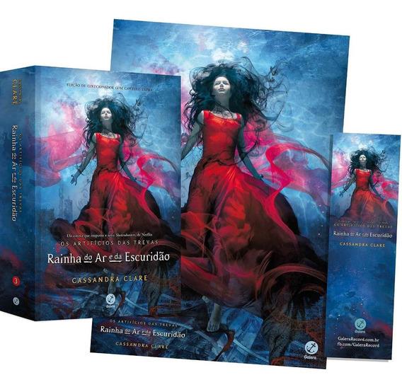 Livro Rainha Do Ar E Da Escuridão - Vol 3 Pôster E Marcador