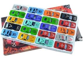 Coleção Mini Carrinhos De Plásticos Caixa Com 20 Unidades