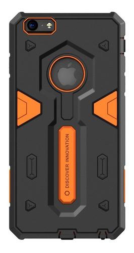 Imagen 1 de 6 de Carcasa Fuerte Nillkin Defender Ii iPhone 6/6s Plus, Naranja