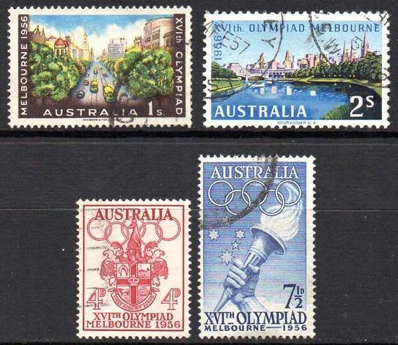 Australia 1956. La Serie Completa De La Olimpíada Melbourne