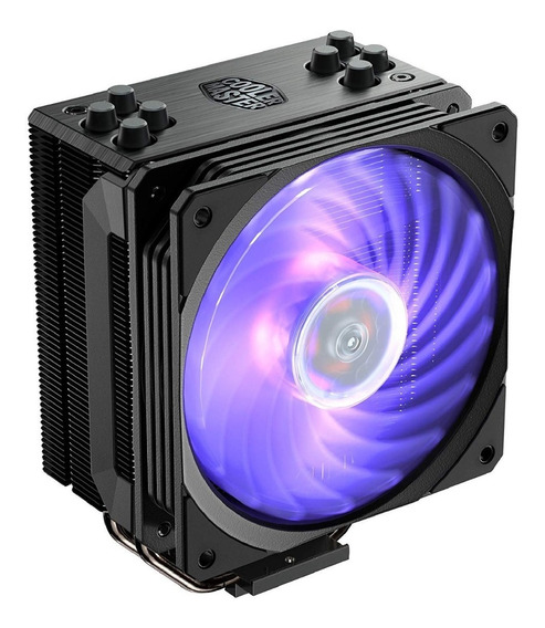 Cooler Hyper 212 Black Edition Rgb 4 Heatpipes P/ Intel Amd