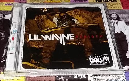 Lil Wayne - Rebirth - Cd Promo P2009 Nuevo!