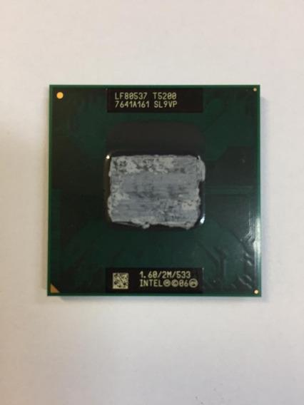Processador Notebook Intel Core 2 Duo T5200 1.60ghz