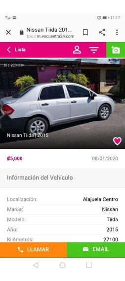 Nissan Tiida Cuatro Puertas