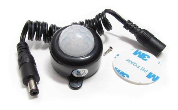 Sensor De Presença Pir Fita De Led 5v 24v 5a Liga Automático