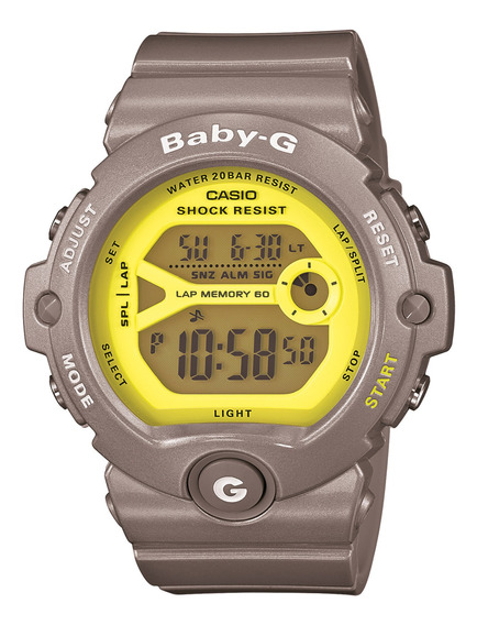 Reloj Baby-g Mujer Gris Bg-6903-8dr