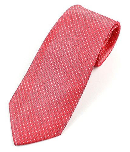 Corbata De Seda Para Hombre Corbata Patron De Micro Puntos -
