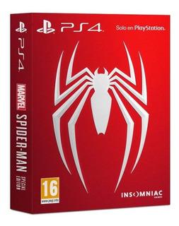 Spiderman Special Edition Ps4 Disponible