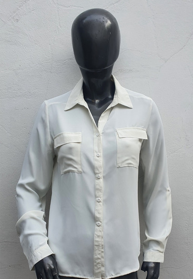 Camisa Oficina Suelta Viscosa Fibrana Odas