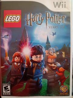 Wii Lego Harry Potter Años 1-4