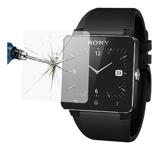 Vidrio Templado Protector Glass Smartwatch Sony Sw2 40x39mm