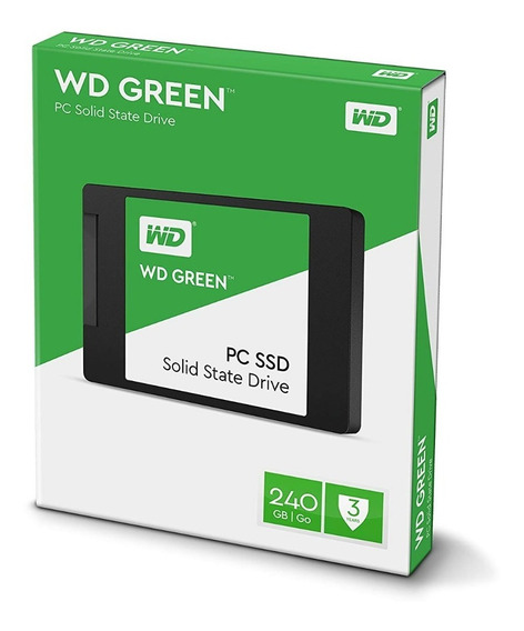 Ssd 480 Gb Western Digital Wd Green Sata Wds480g2g0a