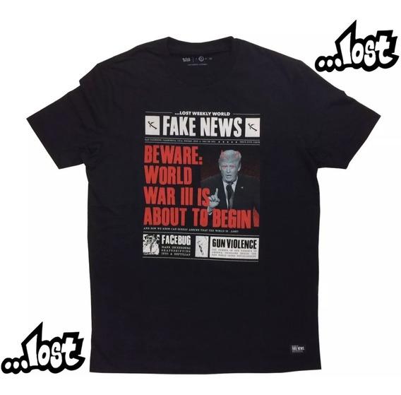 Camiseta Lost 22022821 Original Masculina Verão 20