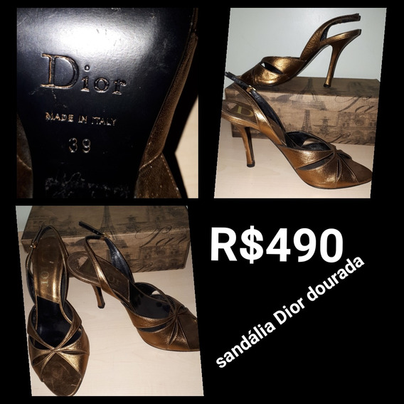Sandália Dior So $220