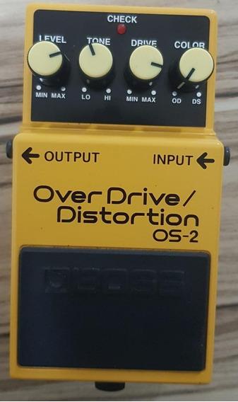 Pedal Boss Os-2 Overdrive Para Guitarra