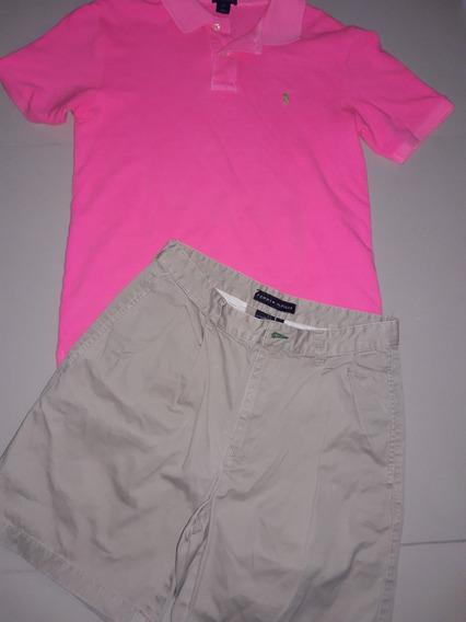 Short Y Camisa Marca Original