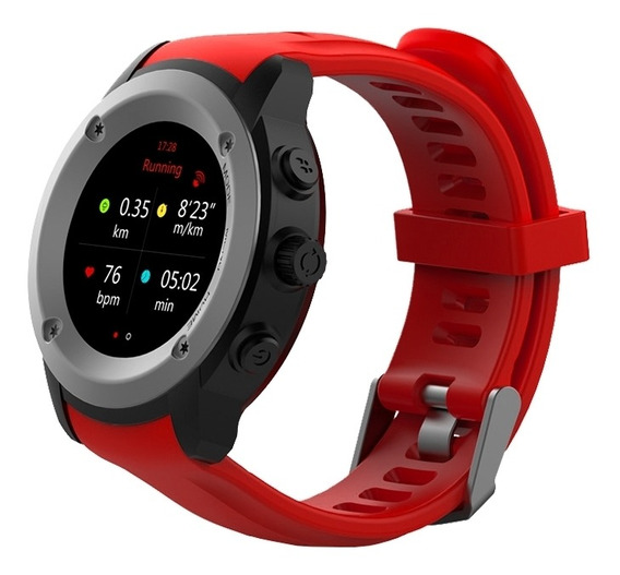 Ghia Smart Watch Draco 1.3 Touch Heart Rate Rojo