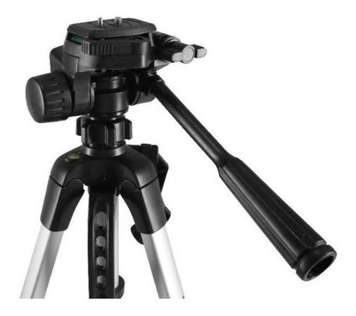 Tripé Universal Fotográfico Profissional Nikon Canon 1,60 Mt