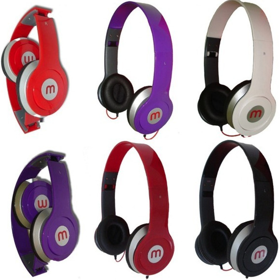Fone De Ouvido Stereo Headphone A-569 Mex Ltmex - 5 Unds