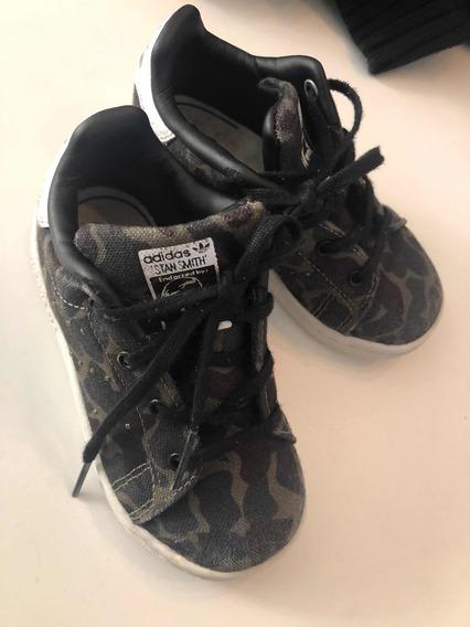 adidas Camufladas Niños Stan Smith 7 1/2 Us Vs