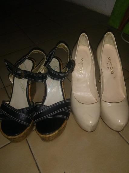 Combo Zapatos De Mujer N° 35